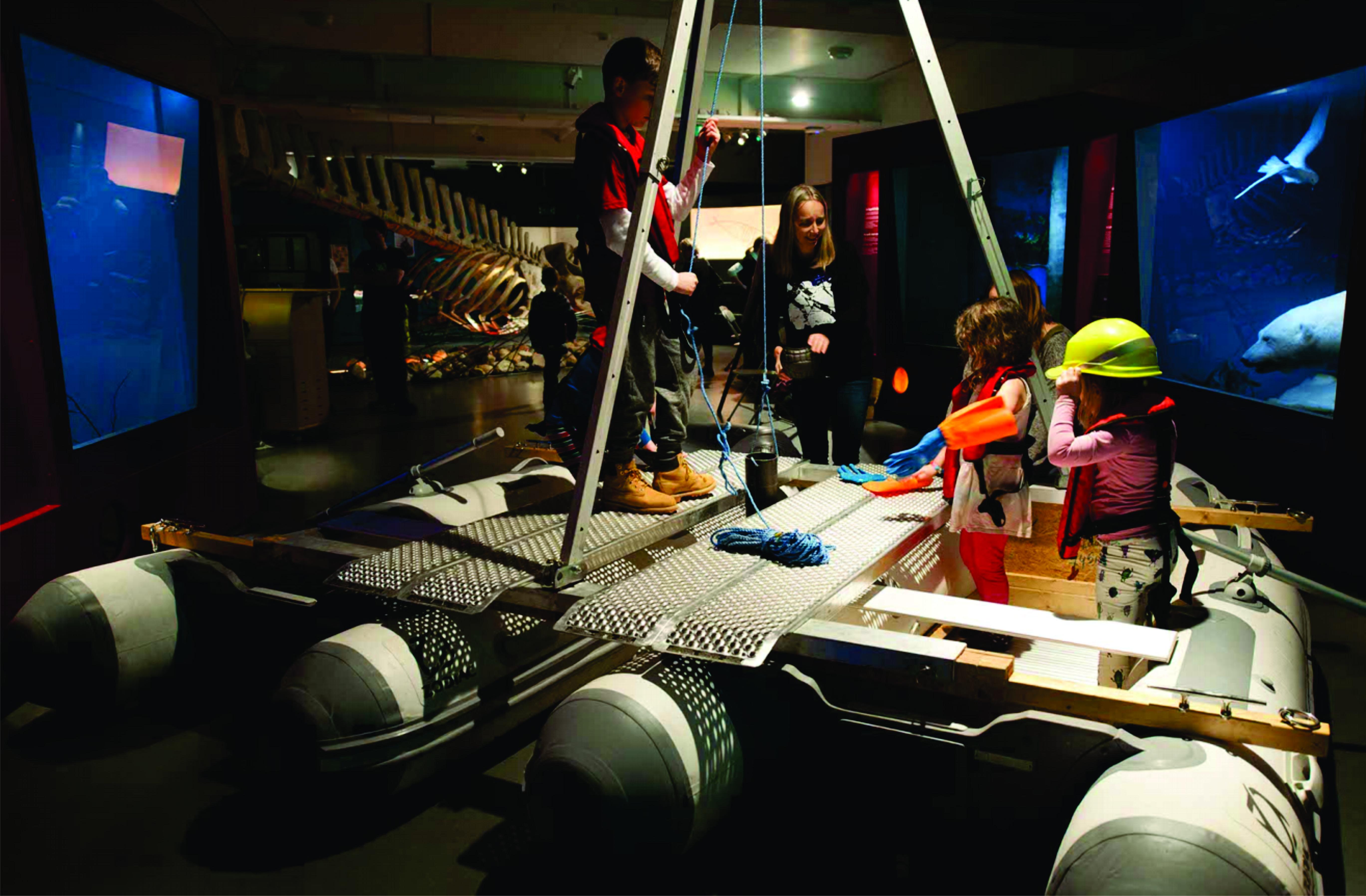 Desembernatt in Tromsø Museum